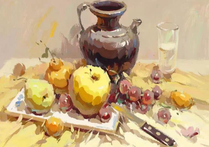成都美术培训丨如何把握色彩静物画的色调?